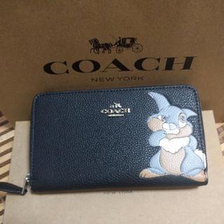 COACH - coach財布とんすけブラックラウンドファスナー