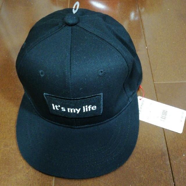 repipi armario(レピピアルマリオ)のrepipi armario キャップ ブラック キッズ/ベビー/マタニティのこども用ファッション小物(帽子)の商品写真