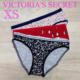 ヴィクトリアズシークレット(Victoria's Secret)の♡新品♡ ヴィクトリアシークレット ショーツ 3枚セット XSサイズ D(ショーツ)