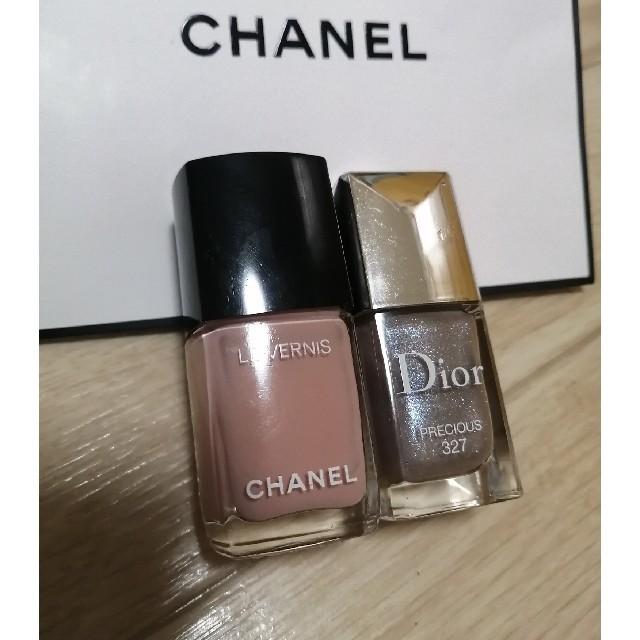CHANEL(シャネル)のシャネル ディオール ネイル コスメ/美容のネイル(マニキュア)の商品写真