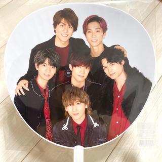 Johnny's - 【美品】SixTONES カウコン ジャンボうちわ