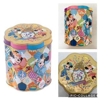 Disney - ディズニーリゾート 35周年 空き缶
