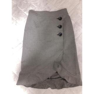 31 Sons de mode - [31 son de mode] チェックマーメイドスカート