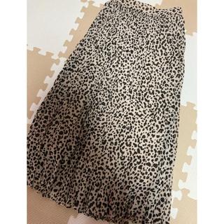 GU - 新品❤レオパード柄スカート