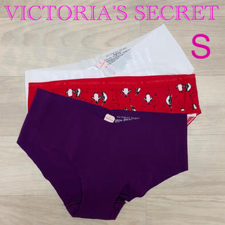 ヴィクトリアズシークレット(Victoria's Secret)の♪新品♡ ヴィクトリアシークレット ショーツ 3枚セット Sサイズ E(ショーツ)