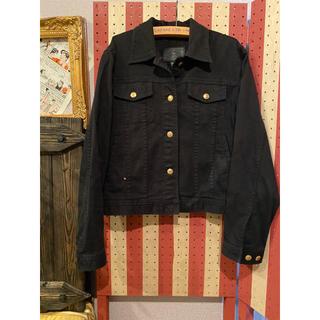 ラルフローレン(Ralph Lauren)のラルフローレン ブラックデニムジャケット(Gジャン/デニムジャケット)