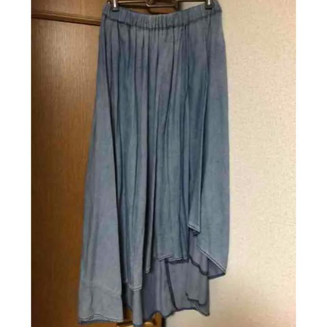 JEANASIS(ジーナシス)のジーナシス  デニム色 スカート レディースのスカート(ロングスカート)の商品写真