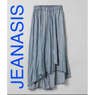 JEANASIS - ジーナシス  デニム色 スカート