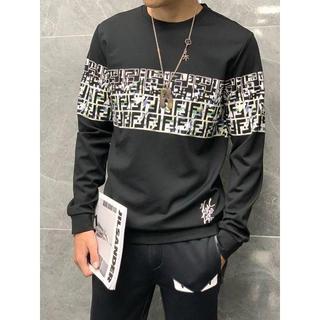 フェンディ(FENDI)のフェンディフェンディ初秋のトップ(Tシャツ/カットソー(七分/長袖))