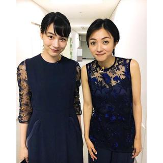 mame - mame ☆ 2019AW lace A-line dress