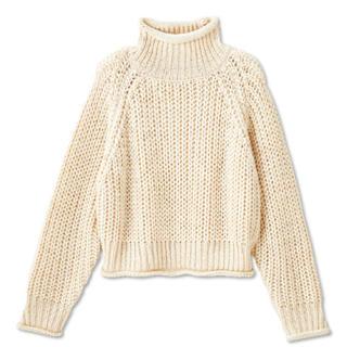 しまむら - ニット セーター しまむら VIVI コラボ クリーム色
