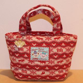 ダッフィー - ダッフィーのクリスマス ミニトートバッグ