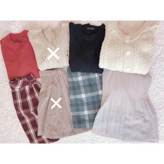 ローリーズファーム(LOWRYS FARM)の♡ガーリー系 冬服まとめ売り♡(セット/コーデ)
