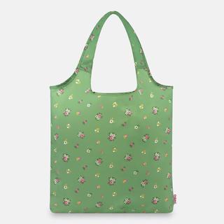 キャスキッドソン(Cath Kidston)の緑 花柄 エコバッグ キャスキッドソン グラスグリーン(エコバッグ)