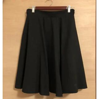 スカート 黒 フォーマル ビジネス
