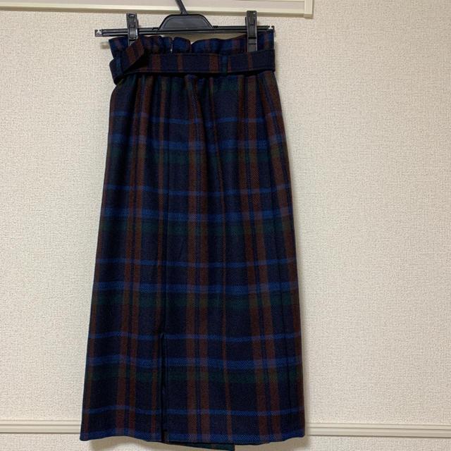 ANAYI(アナイ)のANAYI チェッスカート レディースのスカート(ひざ丈スカート)の商品写真