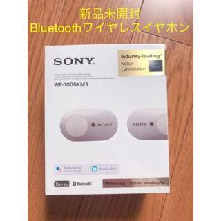 SONY - SONY ワイヤレスイヤホン WF-1000XM3