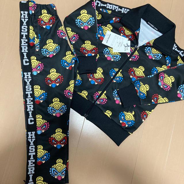 HYSTERIC MINI(ヒステリックミニ)のヒスミニ キラミニ ジャージ キッズ/ベビー/マタニティのキッズ服男の子用(90cm~)(Tシャツ/カットソー)の商品写真