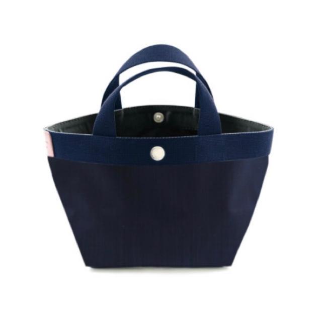 Herve Chapelier(エルベシャプリエ)の【新品】エルベシャプリエ 701CD ネイビー× ネイビー×ドラジェ Sサイズ レディースのバッグ(トートバッグ)の商品写真