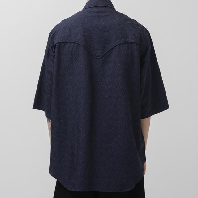 1LDK SELECT(ワンエルディーケーセレクト)のWELLDER WESTERN shirt メンズのトップス(シャツ)の商品写真