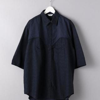 1LDK SELECT - WELLDER WESTERN shirt