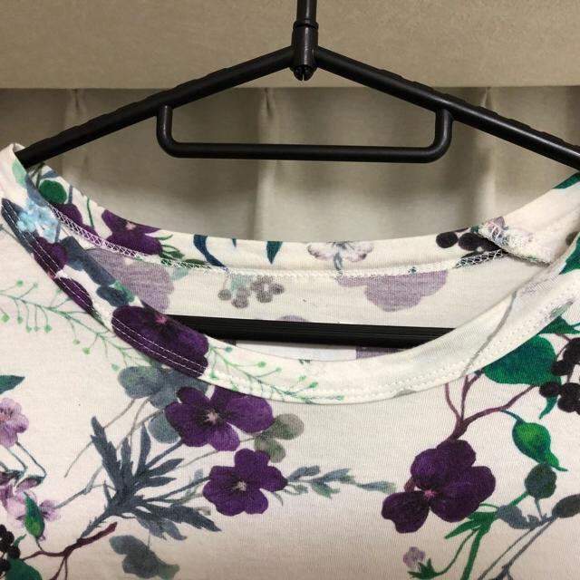 mame(マメ)の花柄シャツ レディースのトップス(Tシャツ(半袖/袖なし))の商品写真