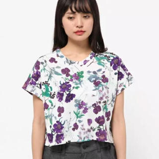 mame - 花柄シャツ
