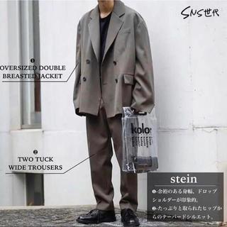 SUNSEA - stein   19aw セットアップ