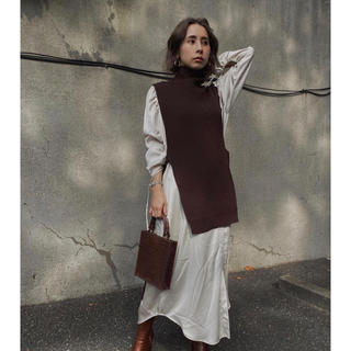 Ameri VINTAGE - Ameri VINTAGE VEST LAYERED SHIRT DRESS