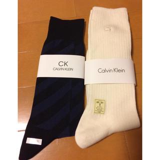 カルバンクライン(Calvin Klein)の新品  カルバン・クライン ソックス 25〜27㎝ 2足(ソックス)