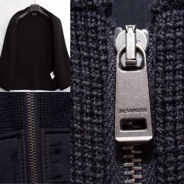 Jil Sander(ジルサンダー)の[未使用品] ジルサンダー JILSANDER 高級 ニット ベスト  L程度 メンズのトップス(ニット/セーター)の商品写真