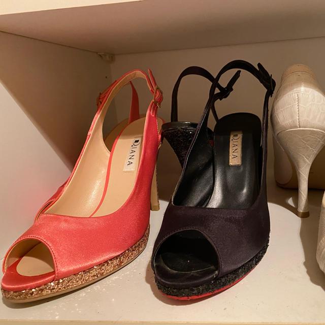 DIANA(ダイアナ)のダイアナ パンプス サンダル 3足セット レディースの靴/シューズ(ハイヒール/パンプス)の商品写真
