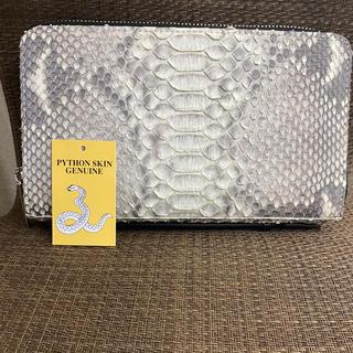 パイソンバッグ セカンドバッグ蛇革財布