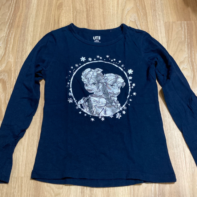 Right-on(ライトオン)の太陽様専用  アナと雪の女王 ワンピ+ロンT   130 キッズ/ベビー/マタニティのキッズ服女の子用(90cm~)(ワンピース)の商品写真