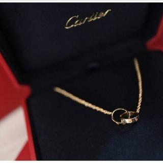 Cartier - Cartier ベビーラブネックレス イエローゴールド