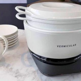 バーミキュラ(Vermicular)の新品未使用! バーミキュラライスポット ホワイト(炊飯器)