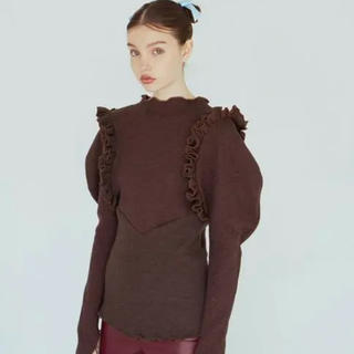 Lochie - DECO depuis 1985 army motif tops (brown)