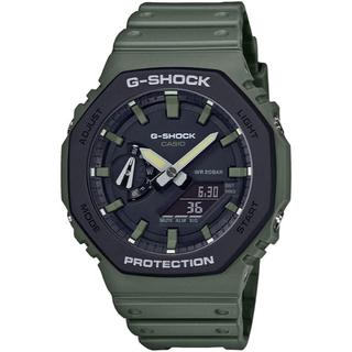 ジーショック(G-SHOCK)のカシオ G-SHOCK カーボンコアガード 腕時計 グリーン×ブラック(腕時計(アナログ))