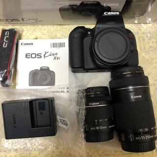 Canon - Canon デジタル一眼レフカメラ EOS Kiss X9i ダブルズームキット