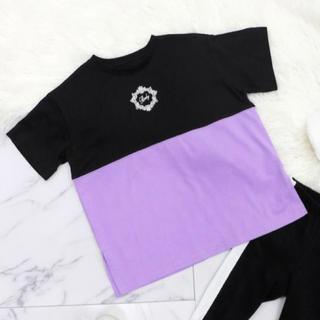 レディー(Rady)のバイカラーフレームRadyちびTシャツ(Tシャツ/カットソー)
