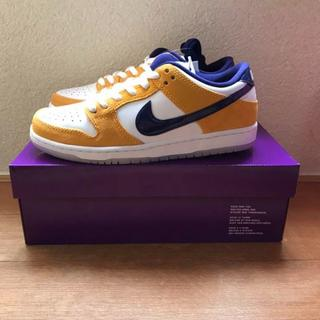 25.5 NIKE SB DUNK LOW LASER ORANGE(スニーカー)