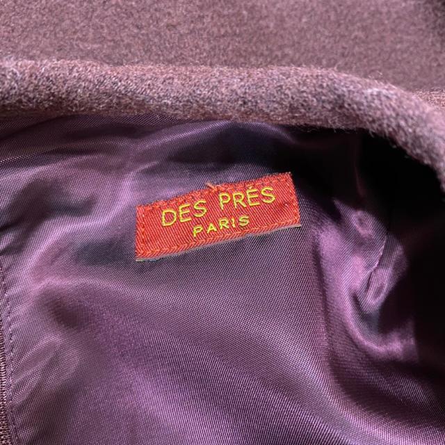 TOMORROWLAND(トゥモローランド)のトゥモローランド♡小豆色ワンピース レディースのワンピース(ひざ丈ワンピース)の商品写真