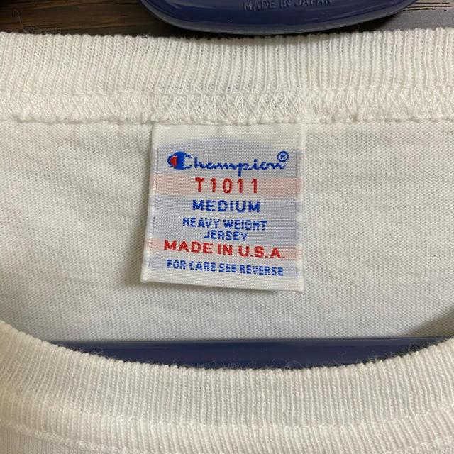 Champion(チャンピオン)の[JS別注] T1011 US Tシャツ MADE IN USA メンズのトップス(Tシャツ/カットソー(半袖/袖なし))の商品写真