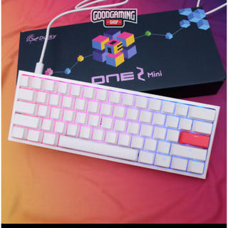 【美品】Ducky One 2 Mini Pure White RGB 60%