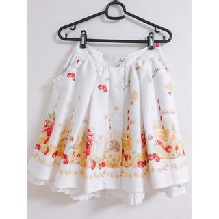 リズリサ(LIZ LISA)のLIZLISA リズリサ フルーツウォーター柄スカート(ミニスカート)