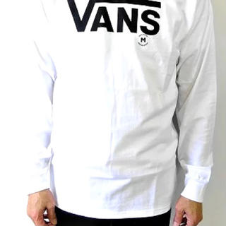 ヴァンズ(VANS)のメンズ レディース バンズ クラッシック ロンT 長袖Tシャツ 長袖 ホワイト(Tシャツ/カットソー(七分/長袖))