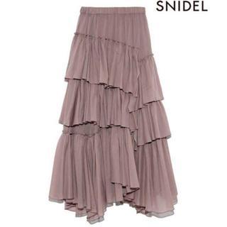 snidel - SNIDEL スナイデル シアーボリュームプリーツスカート