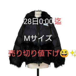 サカイ(sacai)のNike x sacai Women's Parka Mサイズ ブラック(ダウンジャケット)