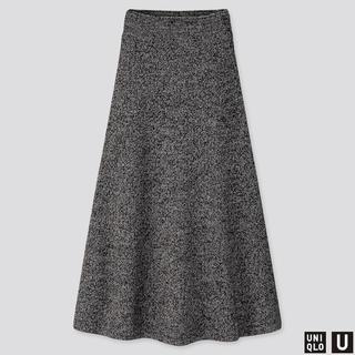 UNIQLO - ユニクロ ニットロングスカート XSサイズ