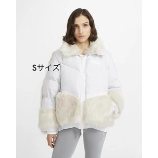 サカイ(sacai)のNike x sacai Women's Parka ホワイト Sサイズ(ダウンジャケット)